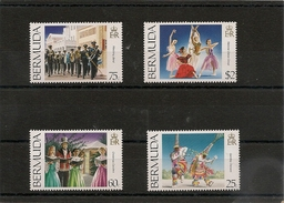 BERMUDES Année 1984 N° Y/T : 676/679** - Bermudes