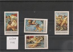 BARBUDA Année 1983 N° Y/T : 615/618** - Antigua Et Barbuda (1981-...)