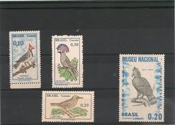 BRESIL Années 1968/69 Oiseaux  N° Y/T : 855-859A-860/61** - Brésil
