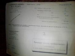 Facture A Entete L Almanach Agenda De La Menagere De Saint Florentin Yonne Annee 1939 - France