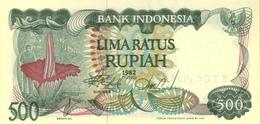 INDONESIA 500 RUPIAH 1982 P-121a UNC  [ID579a] - Indonesia