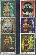 RAS AL KHAIMA Jeux Olympiques MEXICO 68. Yvert 40+PA 11. ** MNH. - Verano 1968: México