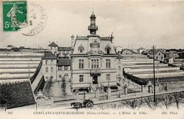 CONFLANS SAINTE HONORINE - L'Hôtel De Ville - Conflans Saint Honorine