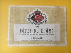 2732 - Côtes Du Rhône 1972 - Côtes Du Rhône