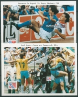 Uganda 1993 Fußball Weltmeisterschaft USA Block 192/93 Postfrisch (C23549) - Uganda (1962-...)