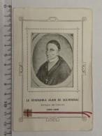 Image Religieuse - Le Vénérable Alain De Solminihac - Evêque De Cachors - Morceau De Tissus - Images Religieuses