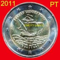 2 Euro PORTUGAL 2011 Pièce Commémorative De 2,oo Euro, Le 500e Anniversaire De Naissance De (Fernand) Fernäo Mendes Pint - Portugal