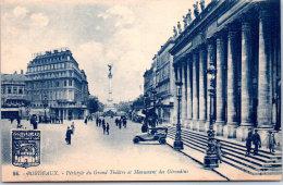 33 BORDEAUX - Péristyle Du Grand Théatre - Bordeaux