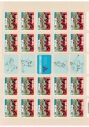 TONGA , ** , MNH , Mi.Nr.832  20-er Bogen+5Zf - Tonga (1970-...)