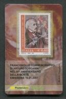 ITALIA TESSERA FILATELICA 2007 - ANNIVERSARIO MORTE ARTURO TOSCANINI - 174 - 6. 1946-.. Republik