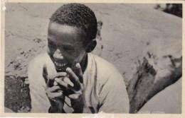 Egypt Fanciulla EritreaLIberia Typical Indigenous Market Real Photo - Eritrea