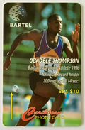 Obadele Thompson: 125CBDB (Short Serial Number)