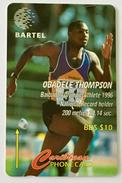 Obadele Thompson: 125CBDB (Long Serial Number)