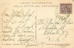 1931  Carte Postale Pour Les USA  Sass 5 - Lettres & Documents