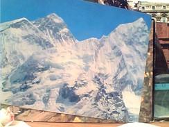 Nepal Mount Everest Flanked By Mount Nhuptse & Mount Lhotse N1975 FV9057 - Nepal