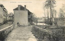 LA CHATRE LAVOIR SUR LES BORDS DE L'INDRE 36 - La Chatre