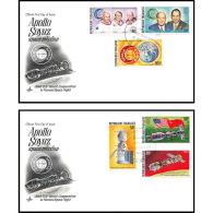 7715/ Espace (space Raumfahrt) Lettre (cover) 15/7/1975 Launch APOLLO Soyuz (soyouz Sojus) Project Fdc Togo - Lettres & Documents