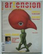 ARTENSION N°42 Daniel CORDIER / CORNEILLE / Alan DAVIE (juillet-août 2008) - Art