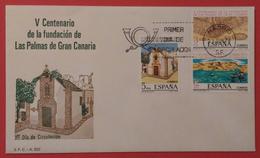 ESPAÑA 1978. SPD - FDC. V Centenario De La Fundacion De Gran Canaria. - FDC