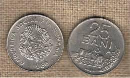 RUMANIA  -   25 Bani 1966  KM94 - Rumania