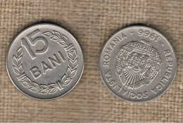 RUMANIA  -   15 Bani 1966  KM93 - Rumania