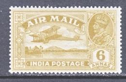 INDIA C 4   * - Airmail