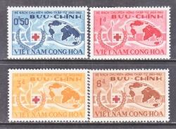 VIETNAM  219-22   *   RED  CROSS - Vietnam