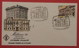 ESPAÑA 1985. SPD - FDC. La Coruña 500 Aniversario De La Capitanía General. - FDC