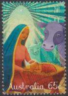 AUSTRALIA - USED 2015 65c Christmas - Nativity Scene - 2010-... Elizabeth II