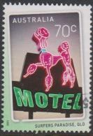 AUSTRALIA - USED 2015 70c Signs Of The Times - Pink Poodle Motel, Queensland - 2010-... Elizabeth II