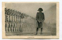 CPA      NAPOLEON  Lot De 3 Cartes   Non écrites      A    VOIR  !!! - Politicians & Soldiers
