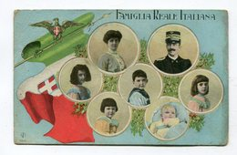 CPA  ITALIE  /   Famille Royale     VOIR  DESCRIPTIF  §§§ - Politicians & Soldiers