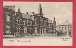 Ressaix - Maison Communale - 1906 ( Voir Verso ) - Binche