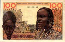 C OTE D'IVOIRE 100 FRANCS Non Daté Pick 101Ag - Côte D'Ivoire