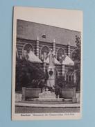 Monument Der GESNEUVELDEN 1914-1918 ( Augustinus ) Anno 19?? ( Zie Foto Details ) !! - Boechout