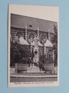 Monument Der GESNEUVELDEN 1914 - 1918 ( Augustinus ) Anno 19?? ( Zie Foto Details ) !! - Boechout