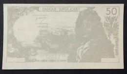 Billet Fictif 50 FRANCS RACINE Banque Super Jouet - 1962-1997 ''Francs''