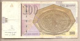 Macedonia - Banconota Circolata Da 100 Denari P-16k - 2013 - Macedonia