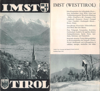 "05104 ""IMST - TIROL - INSERTO HOTEL UND GASTHOFE-VERZEICHNIS"" DEPLIANT TURISTICO - Dépliants Turistici"