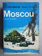 """Moscou """"Leur Aventure Roman De Guerre""""  (Théodor Plievier) éditions J'ai Lu De 1966 - Abenteuer"""