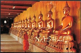 CPA  Thaïlande  _  Carte Postale De Bangkok, Temple Bouddhiste Phra - Thaïlande