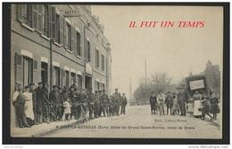 27 IVRY LA BATAILLE - Hôtel Du GRAND SAINT MARTIN, Route De DREUX - Ivry-la-Bataille