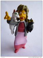 FIGURINE SIMPSON - UNITED LABEL 2009 - CRAZY CAT LADY (2) - Simpsons