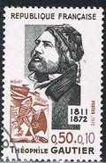 FRANCE : N° 1728 Oblitéré (Théophile Gautier) - PRIX FIXE - - France