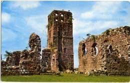 PANAMA  Ruinas De La Catedral En Panama Vieja EMA Stamp - Panama