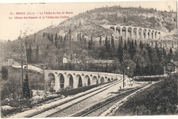 -39-  MOREZ  Le Viaduc Du Bas Morez - Le Château Des Essarts Et Le Viaduc - TTBE - Morez