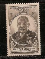 A.E.F.   OBLITERE