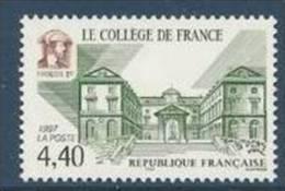 "FR YT 3114 "" Collège De France "" 1997 Neuf** - France"