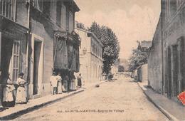 "05113 ""SAINTE MARTHE - ENTREE DU VILLAGE"" ANIMATA. CART SPED 1912 - Francia"