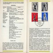 Feuillet Poste FDC 1714 1714 Europa Sculpture Borgerhout - 1971-80